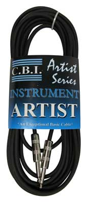 CBI Artist Series Instrument Cables