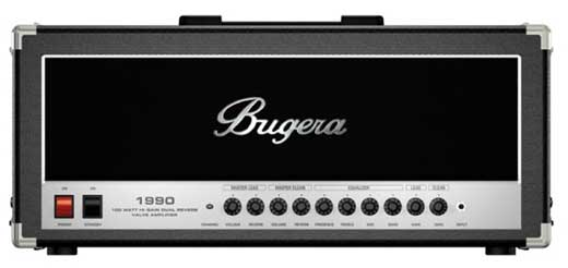 Bugera 1990 Dual Reverb Valve Guitar Amplifier Head