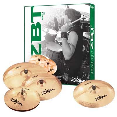 Zildjian ZBT Rock Cymbal Package