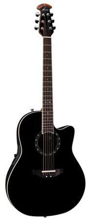Ovation 1771AX Standard Balladeer Cutaway Acoustic Electric