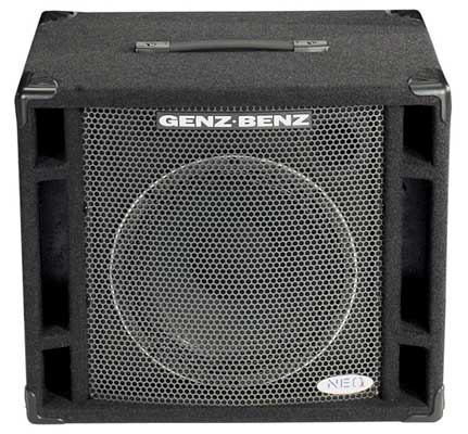 Genz Benz NEOX 112T Bass Guitar Amplifier Cabinet