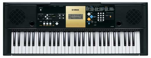 Yamaha YPT220 61 Key Personal Keyboard with AC Adapter