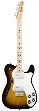 Fender Classic Player Telecaster Thinline Deluxe with Gig Bag
