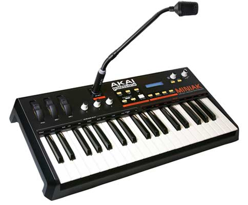 Akai MINIAK Virtual Analog Synthesizer with Vocoder