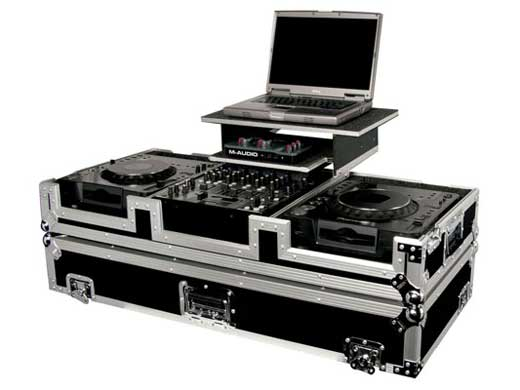 Odyssey FZGS12CDJW Glide Style DJ Coffin Case with Wheels