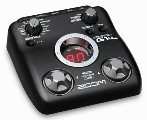 Zoom G1U Guitar Effects Pedal with USB Interface