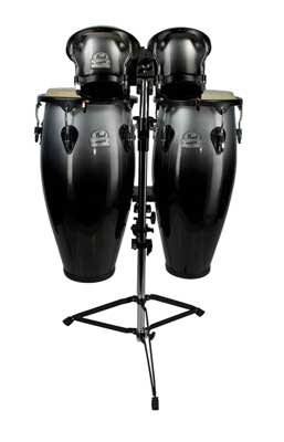 Pearl Primero Conga Bongo Package with Stand