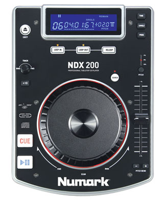 Numark NDX200 Performance-Ready Tabletop CD Player