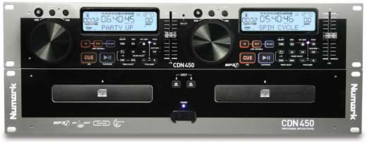 Numark CDN450 Dual DJ MP3 CD Player