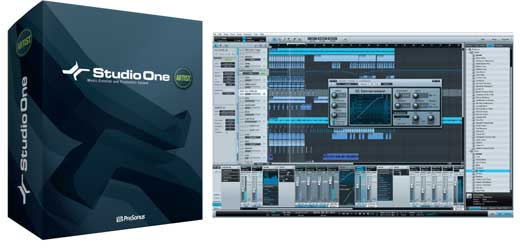 PreSonus Studio One Artist Music Production Software