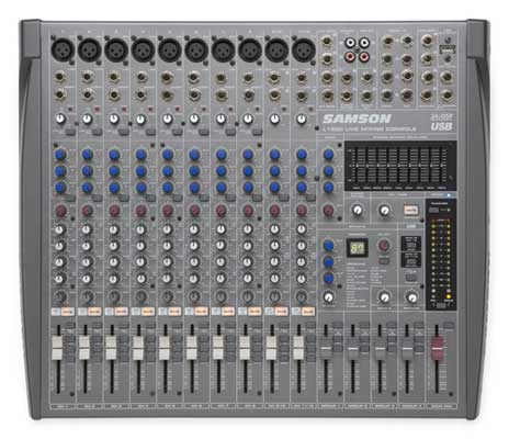Samson L1200 4 Bus USB Mixer