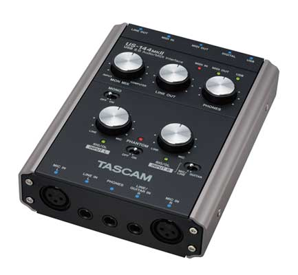 Tascam US144 MKII USB Audio Interface