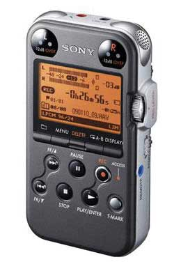 Sony PCMM10 Portable Digital Recorder