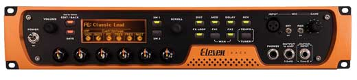 Digidesign Eleven Rack Guitar Effects and Amp Modeling Int
