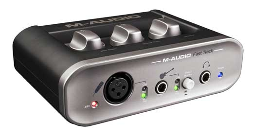 M Audio Fast Track MkII USB Audio Interface