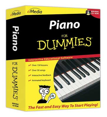 eMedia Piano for Dummies Level 1 Software