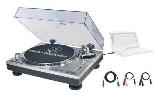 Audio Technica ATLP120 USB Direct-Drive Pro Turntable
