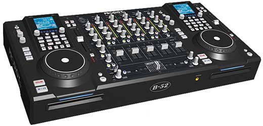B52 Prodigy FX DJ CD System with Effects