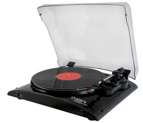 ION Audio Profile Pro USB Digital Audio Conversion Turntable