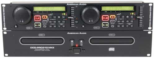 American Audio DCD Pro310 MKII Dual CD Player