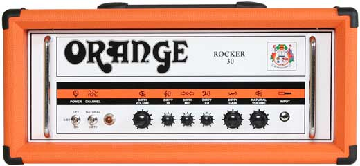 Orange Rocker 30 Twin Channel Guitar Amplifier Head