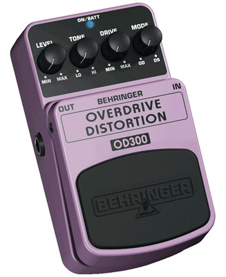 Behringer OD300 Overdrive-Distortion Pedal