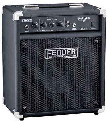 Fender Rumble 15 Bass Guitar Combo Amplifier