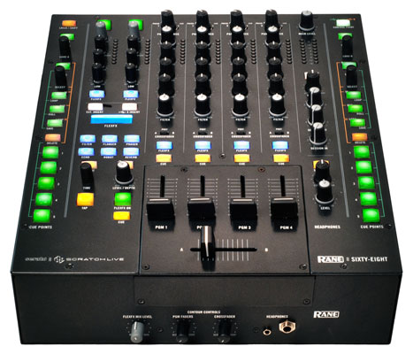 Rane Sixty Eight USB Serato DJ Mixer