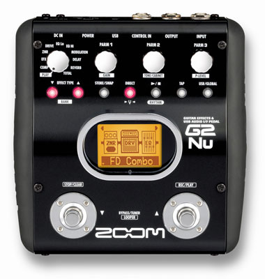 Zoom ZG2NU Guitar Multieffects Pedal and USB Interface