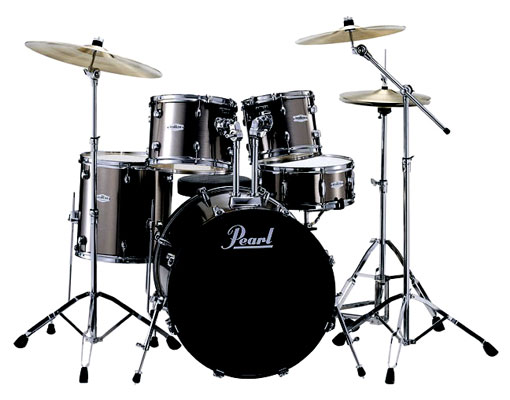 Pearl Forum FZH725B 5 Piece Drum Set