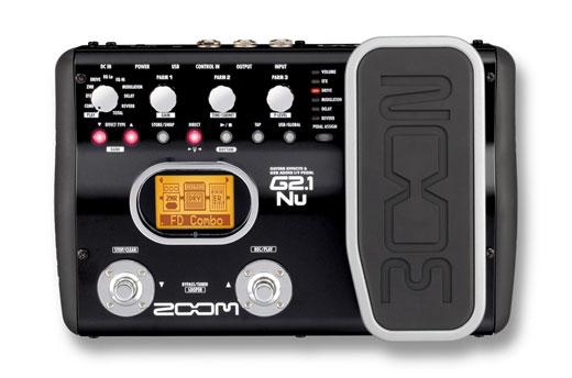 Zoom ZG21NU Guitar Multieffects Pedal and USB Interface