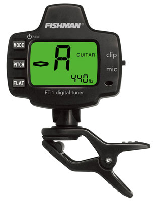 Fishman FT1 Digital Guitar Tuner
