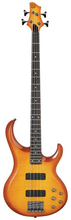 Ibanez BTB300 Flame Top Electric Bass Guitar