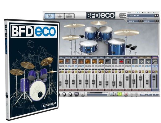 FXpansion BFD Eco Drum Software