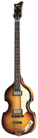 Hofner 5001 Vintage 62 Electric Violin Bass with Case