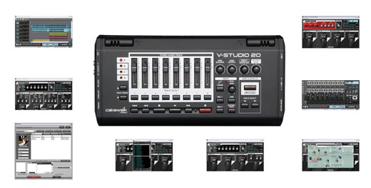 Cakewalk V Studio 20 Recording Software with USB Interface