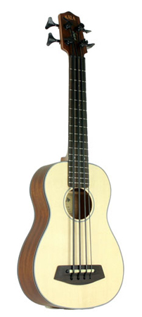 Kala U BASS2 Bass Ukulele with Gig Bag