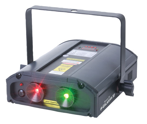 American DJ Galaxian 3D Multi Beam Laser Lighting Effect