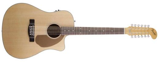 Fender Villager 12-String Acoustic Electric Guitar