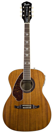 Fender Tim Armstrong Hellcat Left Handed Acoustic Electric