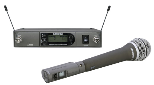 Samson Airline Synth Handheld Wireless Microphone System