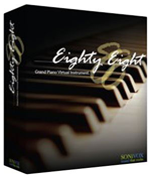 Sonivox Eighty Eight Grand Piano Virtual Instrument Software