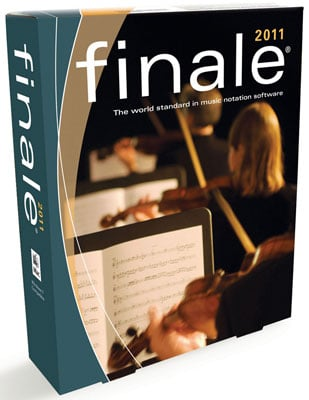Make Music Finale 2011 Notation Software