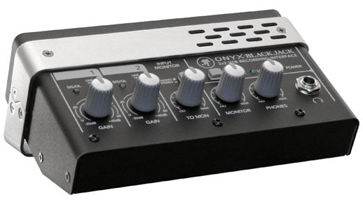 Mackie Onyx Blackjack 2x2 USB Recording Audio Interface