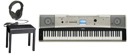 Yamaha YPG535 88-Key Keyboard Package with Bench