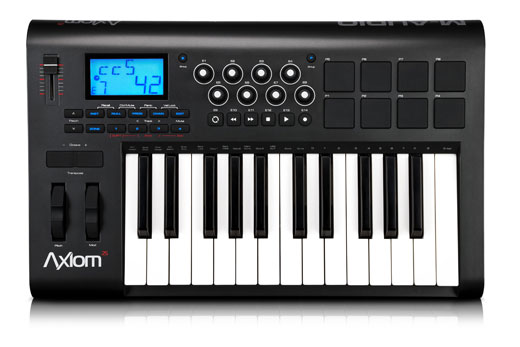 M Audio Axiom 25 2nd Generation Compact Keyboard Controller