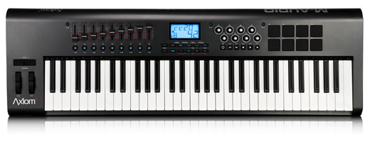 M Audio Axiom 61 2nd Generation MIDI Controller Keyboard