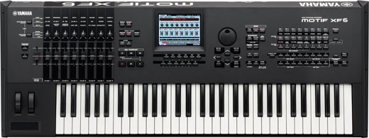 Yamaha Motif XF6 61 Key Keyboard Synthesizer Workstation
