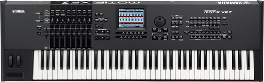 Yamaha Motif XF7 76 Key Keyboard Synthesizer Workstation