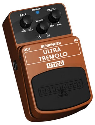 Behringer Ultra Tremolo UT100 Guitar Effects Pedal